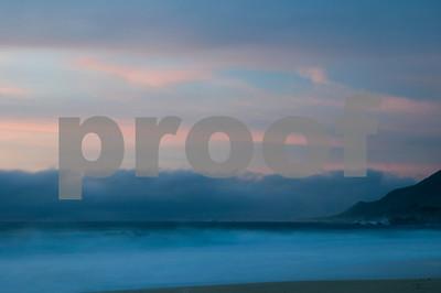 Sunset Big Sur Coast, California