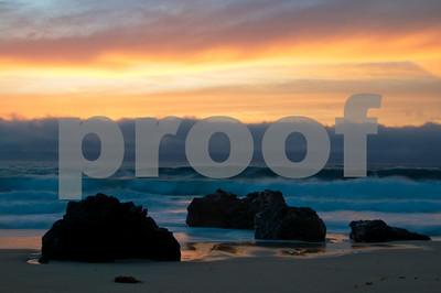 Coastal Sunset-Garapata State Beach