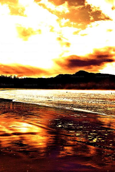 Burnished Sky; Burnt Sand