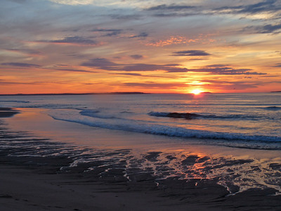 Ocean Park Beach, ME sunrise