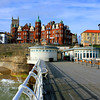Cromer Pier and Hotel de Paris.