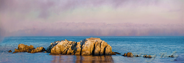 Sunrise at Gualala point island.And yes this were the colors.