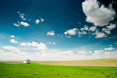 "I took this shot of the high plains in early summer while heading west on US 2 in eastern Montana.  *For information on purchasing prints and canvas gallery wraps, click the ""Purchasing"" tab at the top of the page. If viewing on your mobile device, scroll to the bottom of the page and click the ""Full Site"" tab to view as if you were on your home PC and then go to the ""Purchase"" tab to for purchasing info. In mobile mode, you will not see the standard navigation bar with the ""Purchase"" tab."