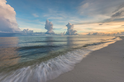 Gulf Clouds Over The Gulf Coast
