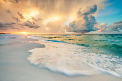 Waves Of Gulf Light