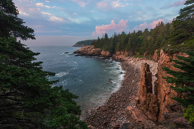 Monument Cove in Acadia National Park