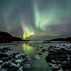 Sea frost - winter light