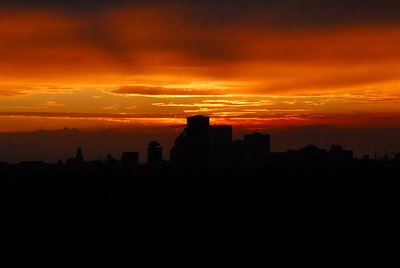 Sunset from Cobbs Hill