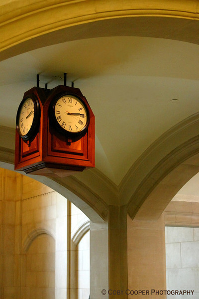February 2, A beautiful time piece that hangs in the student union of Purdue University. My wife and I glimpsed it countless times as a student trying to be on time for class without noticing its beauty. Now that my daughters pass daily under it, I have come to see it differently.