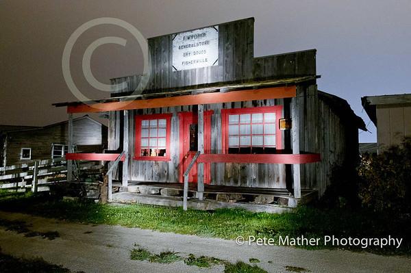 Bye Gone Days Farm Located near Collingwood. Taken at night.