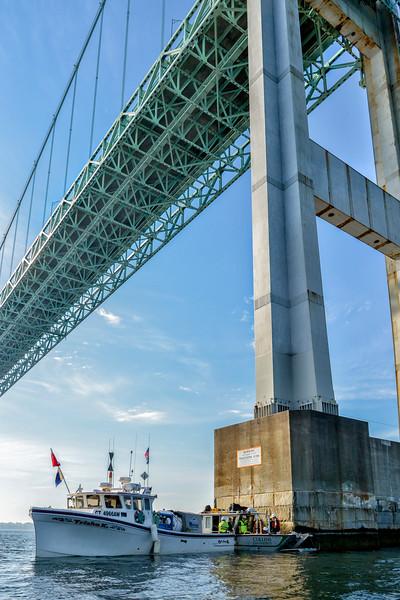 Collins Engineering  Newport Bridge  Diving Inspection