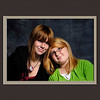 grandaughters  Lea  and Heather