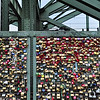 Padlocks on Hohenzollern Bridge