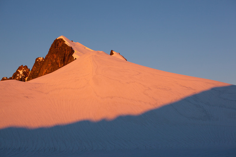 Morning light on Mount Challenger