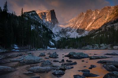 Morning Storm Dream Lake