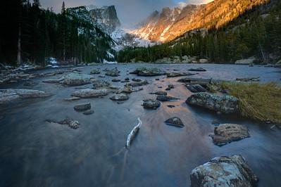 Dream Lake Fall Winds