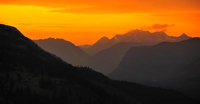 North Cascades Sunset - Winthrop, Washington
