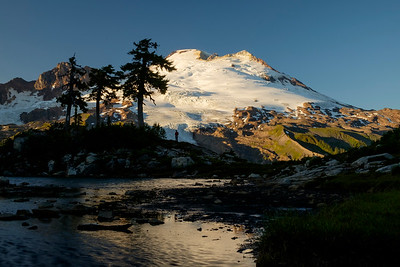 Sunset at Mt. Baker