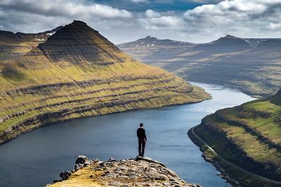 Overlooking Funningur Fjord
