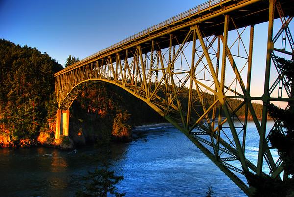 Deception Pass Bridge - Whidbey Island, Washington