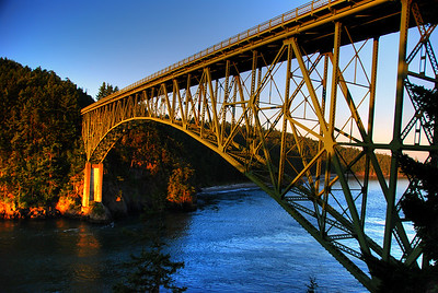 Deception Pass Bridge - Whidbey Island, Washington