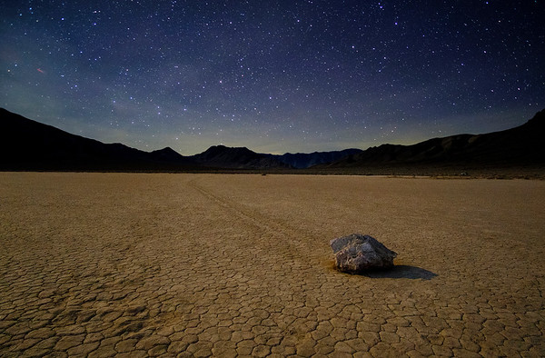 Starry Night at Racetrack Playa