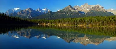 Herbert Lake Sunrise - Alberta, Canada
