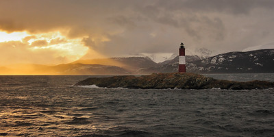 Les Eclaireurs, the Lighthouse at the End of the World - Ushuaia, Argentina