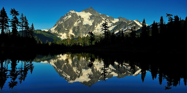 Mount Shuksan Afternoon - Near Glacier, Washington