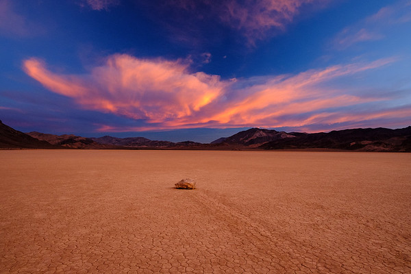Fire in the Sky at Racetrack Playa