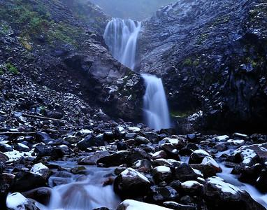 Van Trump Falls - Mount Rainier National Park, Washington