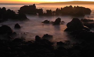 Makena Beach Sunset - Maui, Hawaii