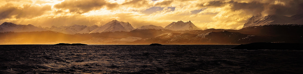 Beagle Channel Sunset - Ushuaia, Argentina