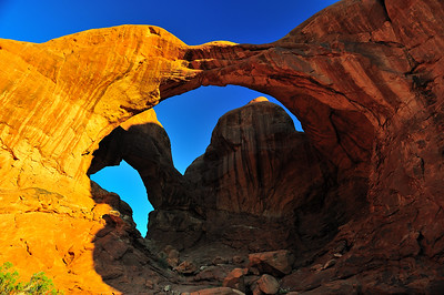 Double Arch - Arches National Park, Utah