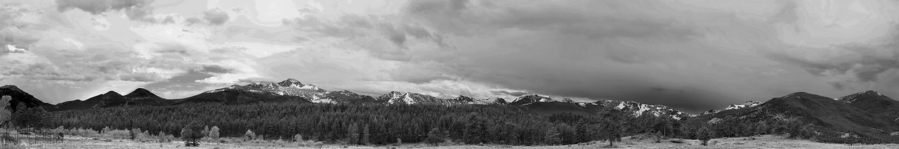 Long's Peak from Rocky Mountain National Park