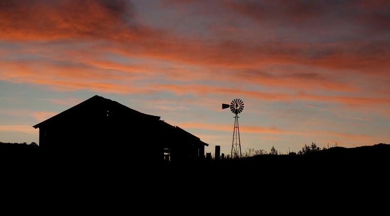 Sunrise in Littleton, Colorado