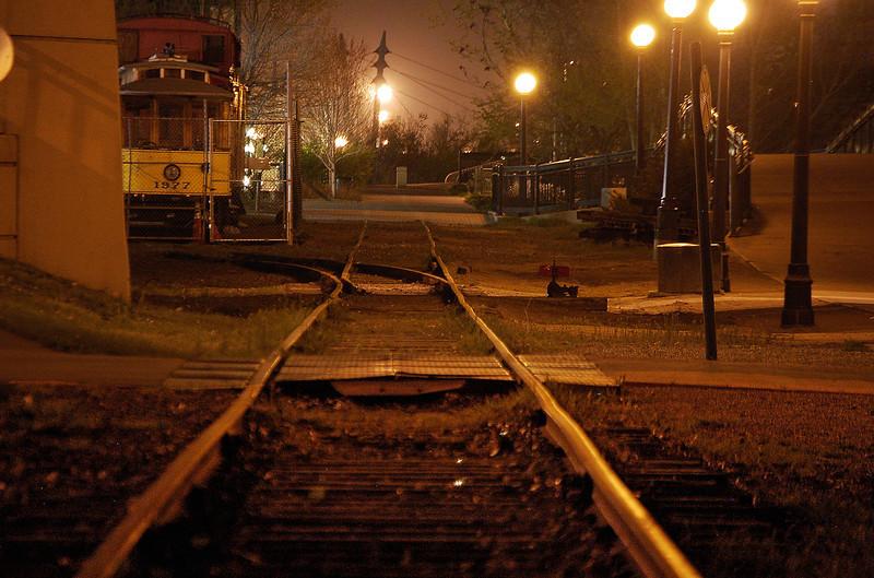 Well worn tracks in Denver