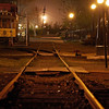 Well worn tracks in Denver