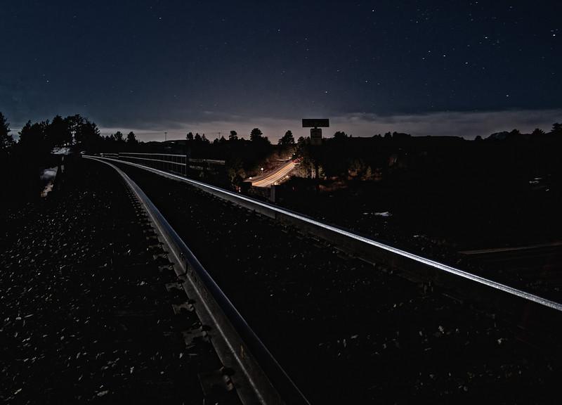 Railway to the stars, Larkspur, Colorado.