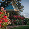 The gazebo in the Rose Garden, Littleton, Colorado.