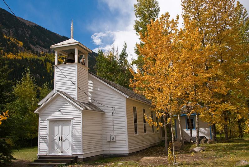 Fall colors in Silver Plume, Colorado