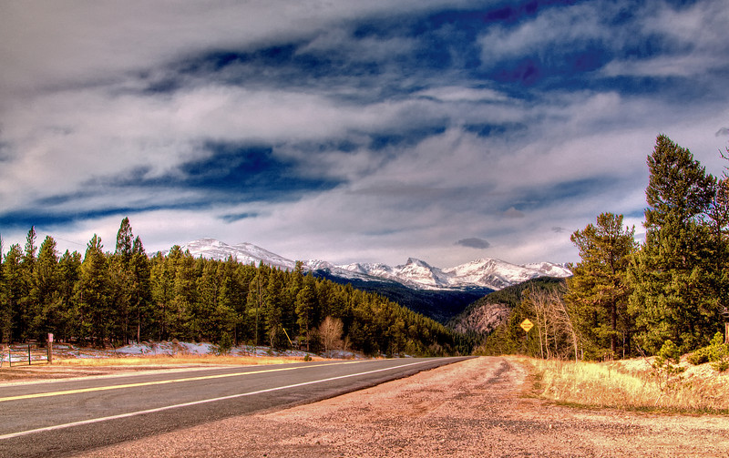 The road to Blackhawk, Colorado