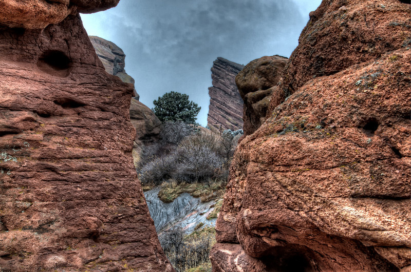 Rock formations in Red Rocks State Park, Colorado