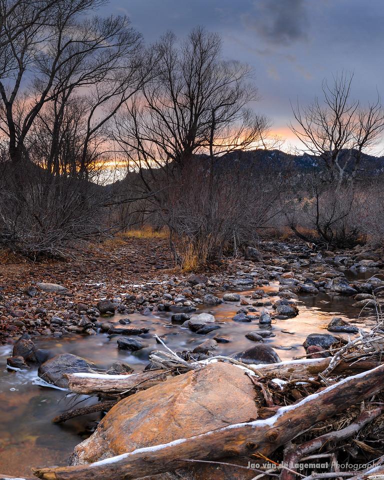 Boulder creek November 2008