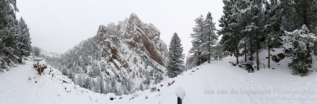 360 degrees pano in Eldorado Canyon