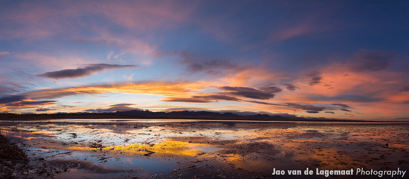 Standley Lake sunset. More info: http://lagemaat.blogspot.com/2012/11/standley-lake-sunset-panorama.html