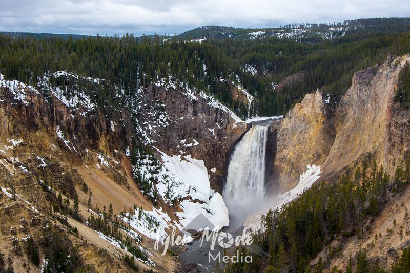 81  G Grand Canyon of Yellowstone Falls