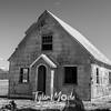 64  G Abandoned Home BW