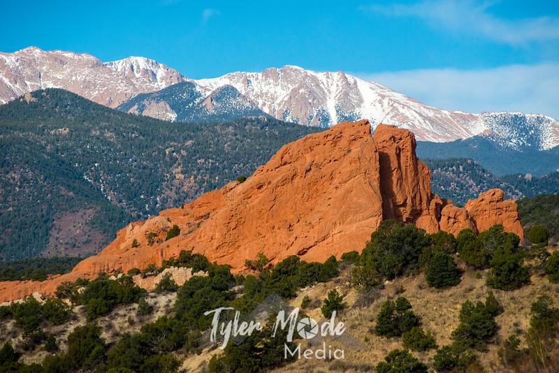 83  G Garden of Gods Pikes Peak