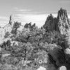 35  G Garden of Gods Wide BW